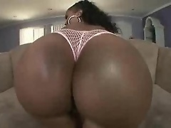 Lacey Duvalle: She uses her powers of persuasion and ass bouncin' to call off the hit!